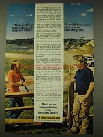 1976 Caterpillar Tractor Co. Ad - Place For New Homes