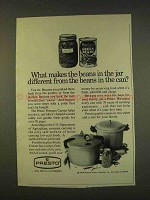 1976 Presto Pressure Canner Ad - Different Than Can