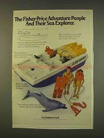 1976 Fisher-Price Adventure People, Sea Explorer Toy Ad