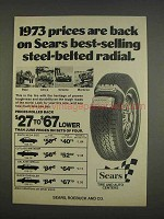 1976 Sears Tires Ad - Best-Selling Steel-Belted Radial