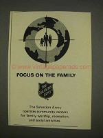 1976 The Salvation Army ad - Focus on the Family