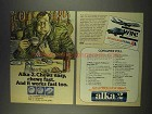 1976 Alka-2 Chewable Antacid Ad - Chews Easy