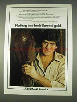 1978 Karat Gold Jewelry Ad - Nothing Else