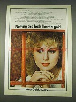 1978 Karat Gold Jewelry Ad - Nothing Else Feels Like