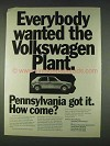 1978 Pennsylvania Bureau of Economic Development Ad