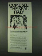 1978 Italian Government Travel Office Ad - Come See