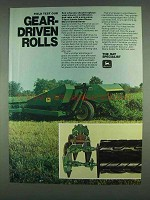 1978 John Deere 1207 Mower/Conditioner Ad - Gear-Driven