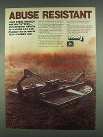 1978 John Deere Unibody Rotary Cutter Ad - Abuse