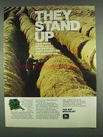 1978 John Deere Round Baler Ad - They Stand Up