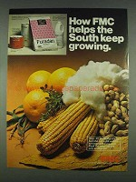 1978 FMC Insecticide Ad - Pounce, Ethion, Furaden