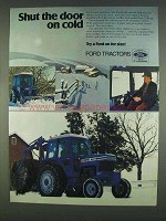 1978 Ford 7700 Tractor Ad - Shut the Door on Cold