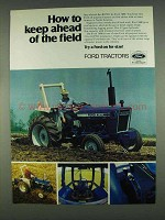 1978 Ford 3600 Tractor Ad - How to Keep Ahead of Field