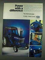 1978 Ford 6700 Tractor Ad - Power With a Difference