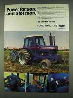 1978 Ford 8700 Tractor Ad - Power for Sure