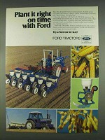 1978 Ford 354 Air System Planter Ad - Plant it Right