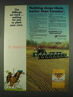 1978 Cyanamid Counter 15-G Soil Insecticide Ad