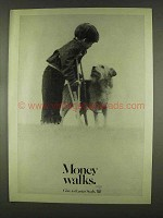1978 Easter Seals Ad - Money Walks