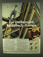 1978 U.S. Postal Service Ad - For Excitement