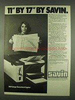 1978 Savin 760 Large Document Copier Ad