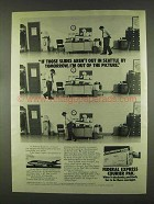 1978 Federal Express Courier Pak Ad - I'm Out