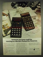 1978 Hewlett-Packard Calculator Ad - HP-33E and HP-38E