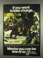 1978 U.S. Marines Ad - If You Want to Take Charge