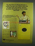 1978 White-Westinghouse Washer Ad - Pearl Bailey