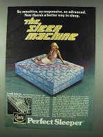 1978 Serta Perfect Sleeper Mattress Ad - So Sensitive