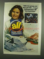 1978 All Detergent Ad - Greasy Dirt