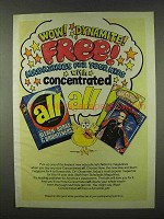 1978 All Detergent Ad - Wow! Dynamite!