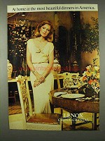 1978 Lenox China and Crystal Ad - At Home