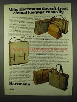1978 Hartmann Luggage Ad - Pancake, Pixie, Fashion Tote