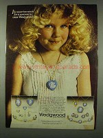 1978 Wedgwood Jasper Jewelry Ad - Never Too Soon