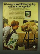 1978 Cycle 3 Dog Food Ad - Active Appetite
