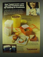 1978 Tupperware Ad - Saltine Saver, Maxi-Canister