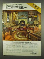 1978 Sears Homestead Family Room Furniture Ad
