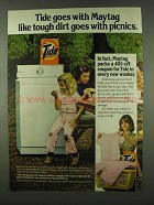 1978 Tide Detergent Ad - Goes With Maytag