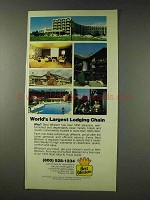 1978 Best Western Motel Ad - World's Largest Chain