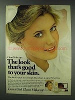 1978 Cover Girl Clean Make-Up Ad - Cindy Harrell