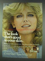 1978 Cover Girl Clean Makeup Ad - Cheryl Tiegs