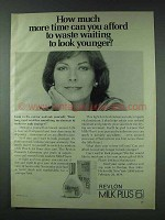 1978 Revlon Milk Plus 6 Ad - Time Waste Waiting