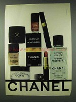 1978 Chanel Cosmetics Ad