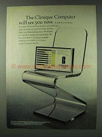 1978 Clinique Products Ad - Computer Will See You Now
