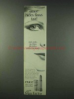 1978 Max Factor erace Creamy Cover-up Ad