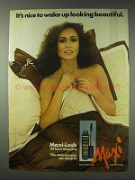 1978 Max Factor Maxi-Lash Mascara Ad - Wake Up