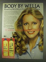1978 Wella Balsam Body Conditioner Ad - Cheryl Ladd