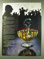 1978 Guerlain Shalimar Perfume Ad - What Kind of a Man