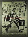 1978 Revlon Charlie Perfume Ad - Sexy-Young