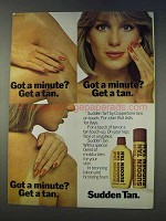1978 Coppertone Sudden Tan Ad - Got a Minute?