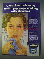 1978 Noxzema Skin Cream Ad - Good Skin Starts Young